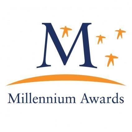 free vector Millennium awards