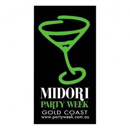 Midori party week