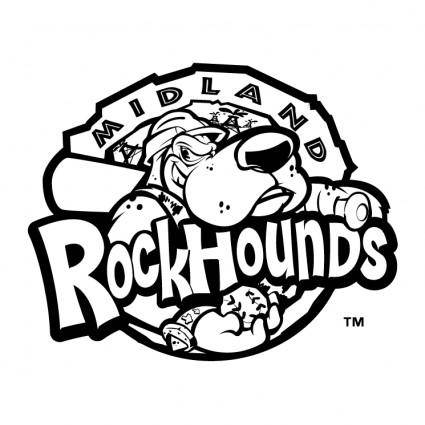 free vector Midland rockhounds