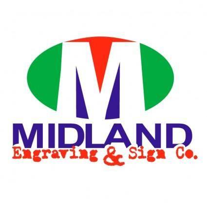 Midland engraving