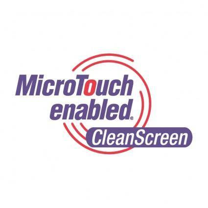 Microtouch enabled