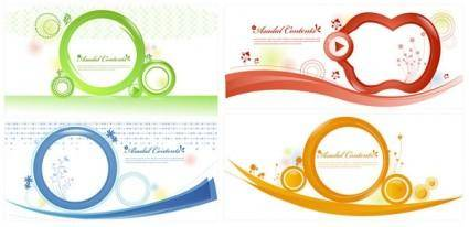 free vector Simple graphics vector 14