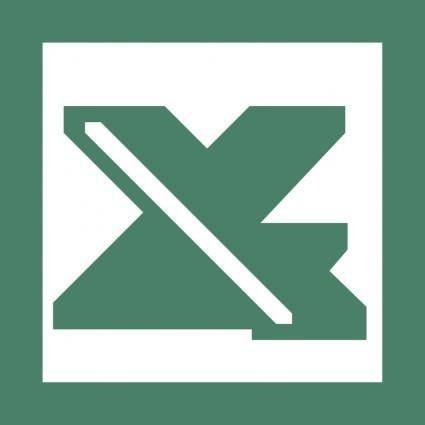 free vector Microsoft office excel