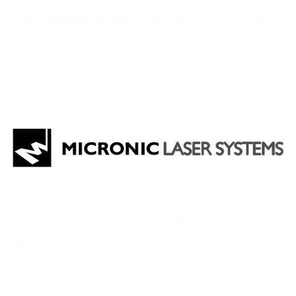 Micronic laser systems