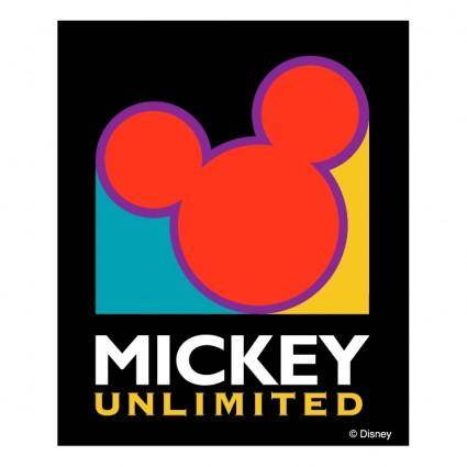 free vector Mickey unlimited