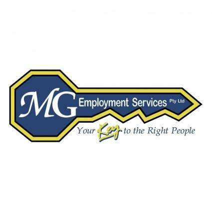 free vector Mg employment services
