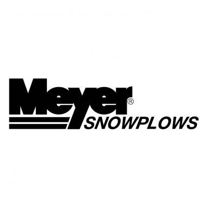 Meyers snowplows