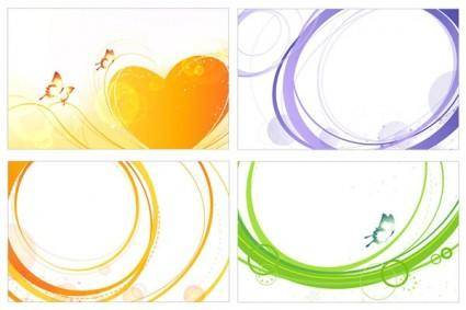 free vector Simple graphics vector 2