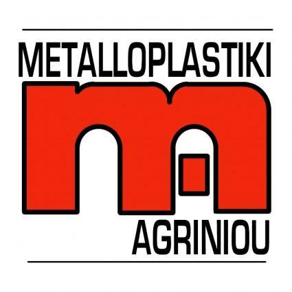 free vector Metalloplastiki agriniou