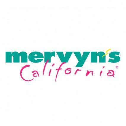 Mervyns california