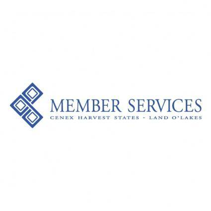 free vector Member services