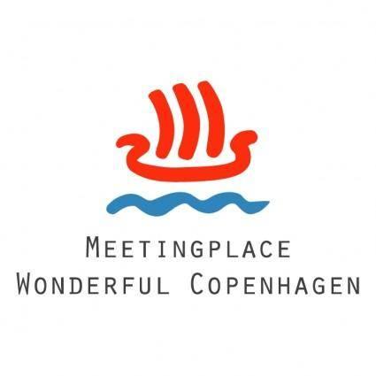 free vector Meetingplace wonderful copenhagen