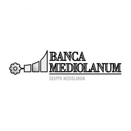 free vector Mediolanum banca