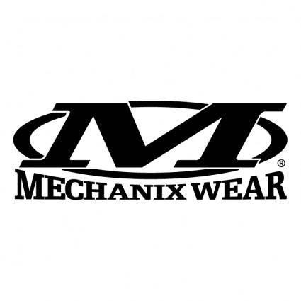 free vector Mechanix wear