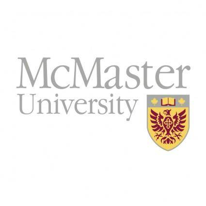 free vector Mcmaster university