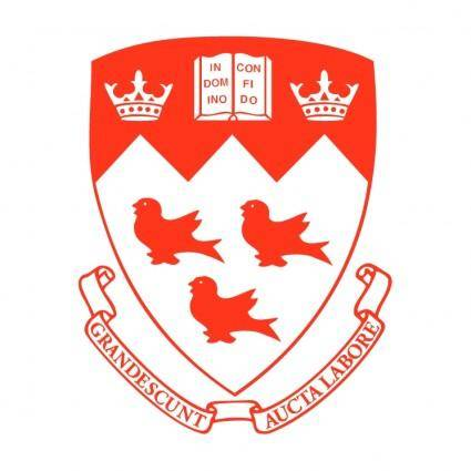 free vector Mcgill university 2
