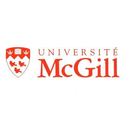 free vector Mcgill university 1