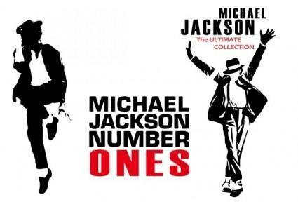 free vector Michael jackson vector