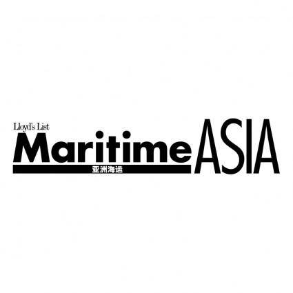 free vector Maritime asia