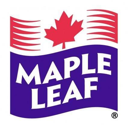 free vector Maple leaf foods