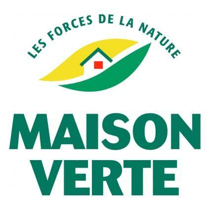 free vector Maison verte