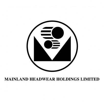 free vector Mainland headwear