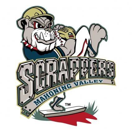 free vector Mahoning valley scrappers 0