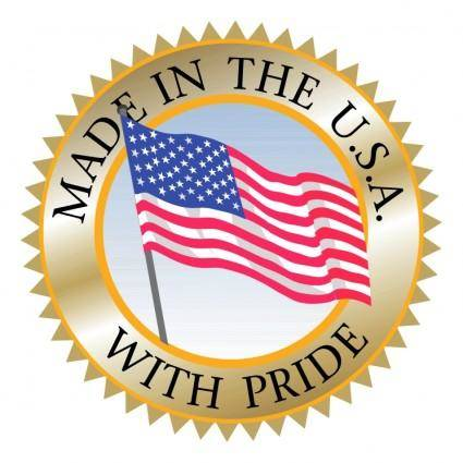 free vector Made in usa 3