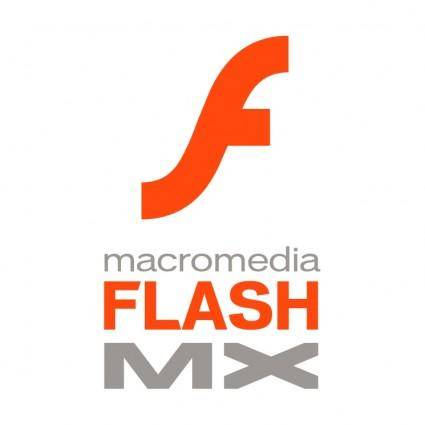free vector Macromedia flash mx
