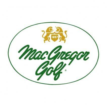free vector Macgregor golf