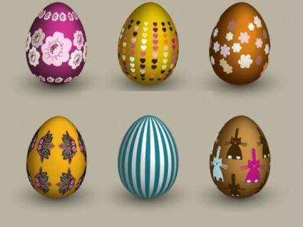 free vector Six eggs vector