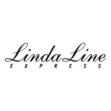 free vector Linda line express