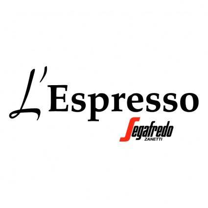 Lespresso caffe