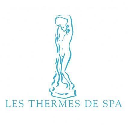 free vector Les thermes de spa