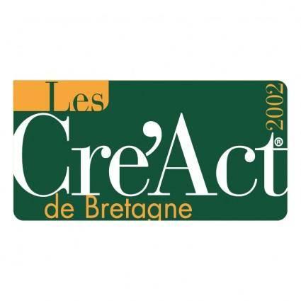 free vector Les creact de bretagne