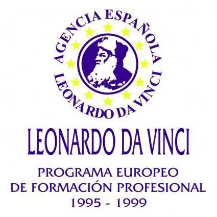 free vector Leonardo da vinci