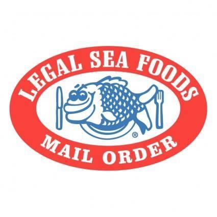 free vector Legal sea foods