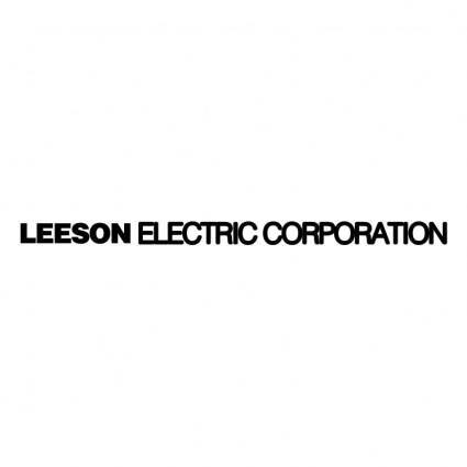 free vector Leeson electric corporation