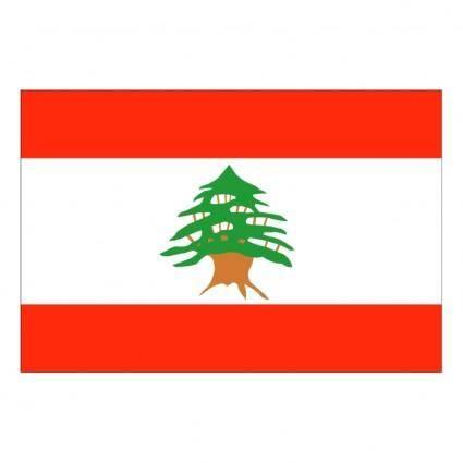 free vector Lebanon