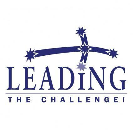 Leading the challenge
