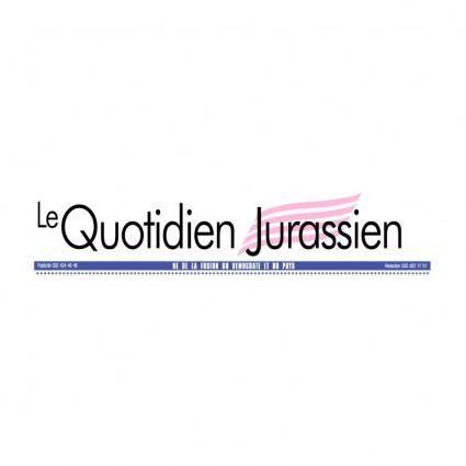 free vector Le quotidien jurassien