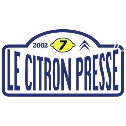 Le citron presse 2002