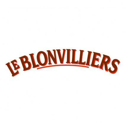 free vector Le blonvilliers