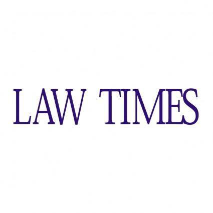 Law times