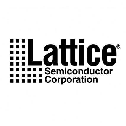 free vector Lattice semiconductor