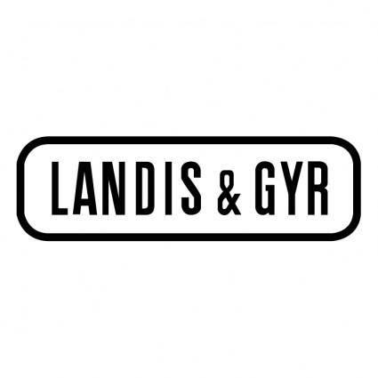 free vector Landis gyr