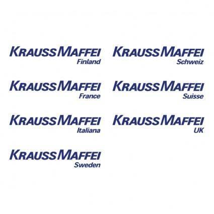 free vector Krauss maffei 0