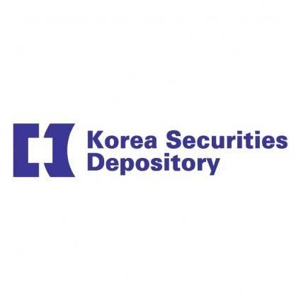 free vector Korea securities depository