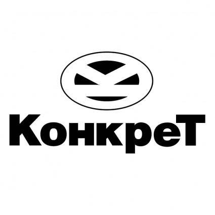 free vector Konkret