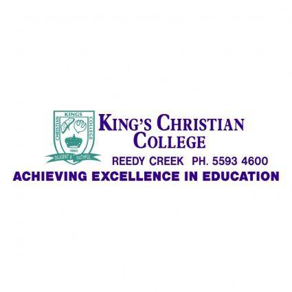 free vector Kings christian college